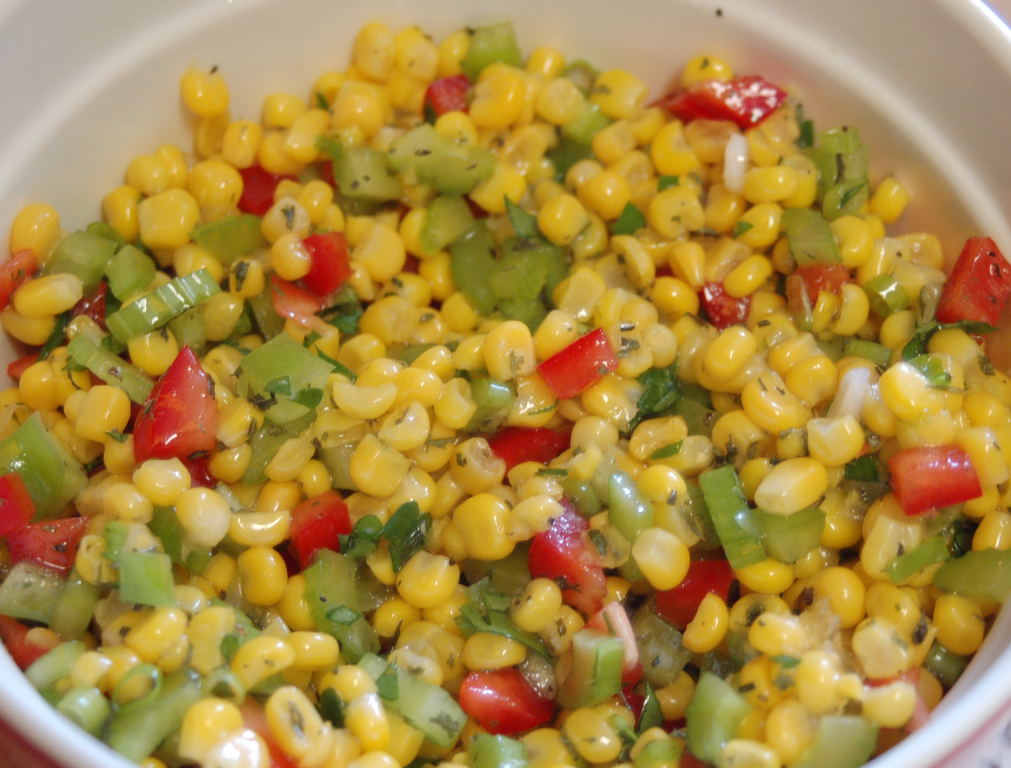 Fresh Corn Salad is light and refreshing. It is a wonderful side dish ...