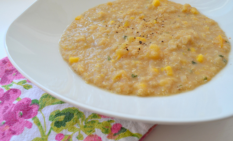 Quinoa and Butternut Squash Soup – Busy Mom's Series - Healthy ...