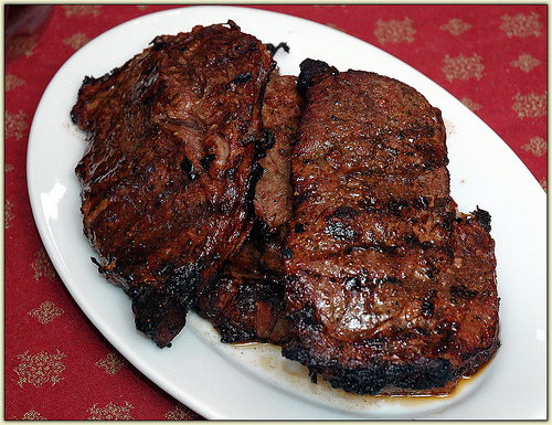 how to cook ribeye steak in oven only