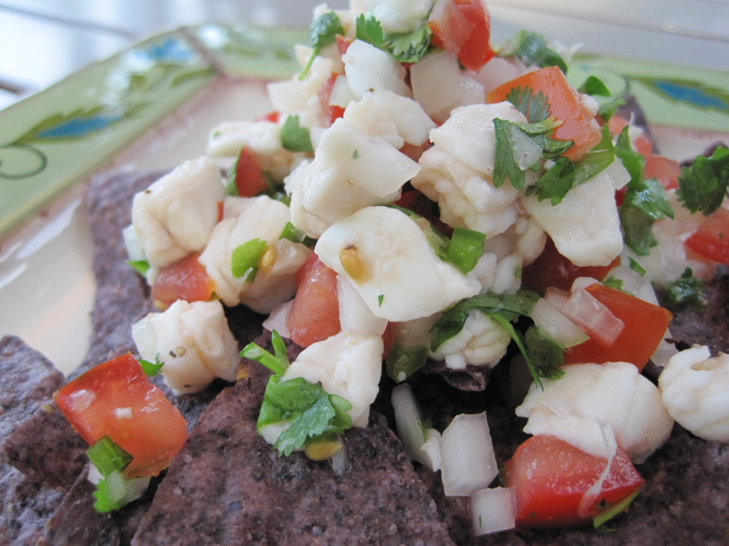 Ceviche Halibut