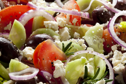 Healthy Eating - Greek Salad