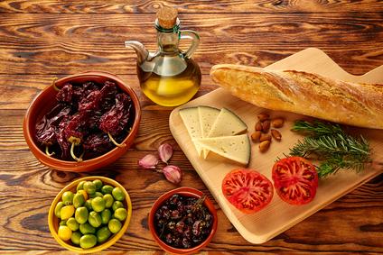 Halthy weight loss - Mediterranean Food